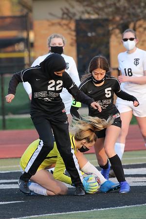 Edsel JV Girls Soccer vs Taylor