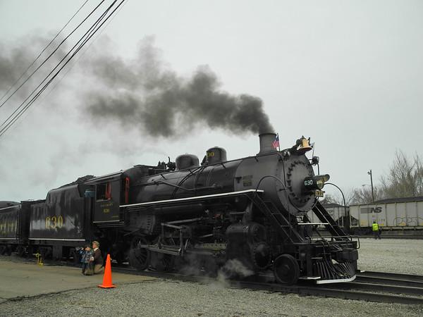 NS Steam Excursion Train 3-24-13