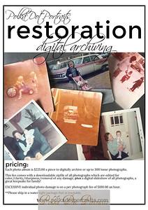 INFO: PDP Restoration/Digital Archives Info