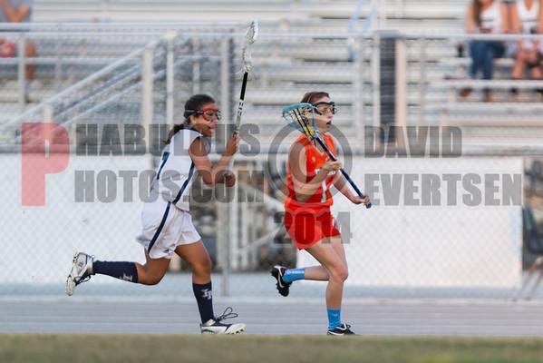 Girls JV Lacrosse - 2014