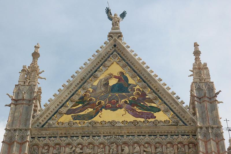 Siena, Italy Duomo (Detail)
