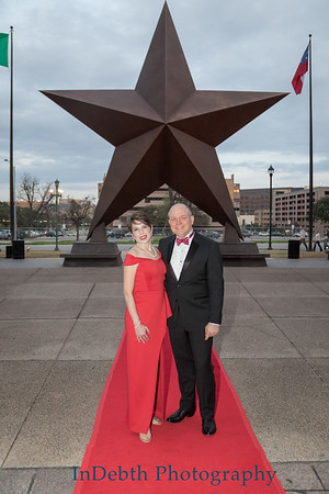 Texas Independence Day Dinner 2018 - Red Carpet
