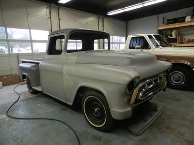 1955 GMC Pickup Project - Joe Small...