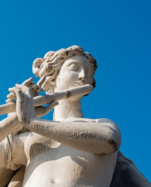 Baroque Statue, Belvedere Garden, Vienna