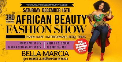 3rd AFRICAN BEAUTY FASHION SHOW 12-16-17