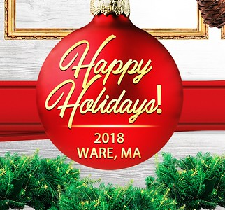 Ware Holiday Wreath Stroll!