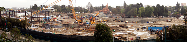 Disneyland Resort, Disneyland, Frontierland, Critter Country, Rivers Of America, Rivers, Rivers, America, Star Wars Land, Star Wars, Mickey, Friends, Parking, Structure