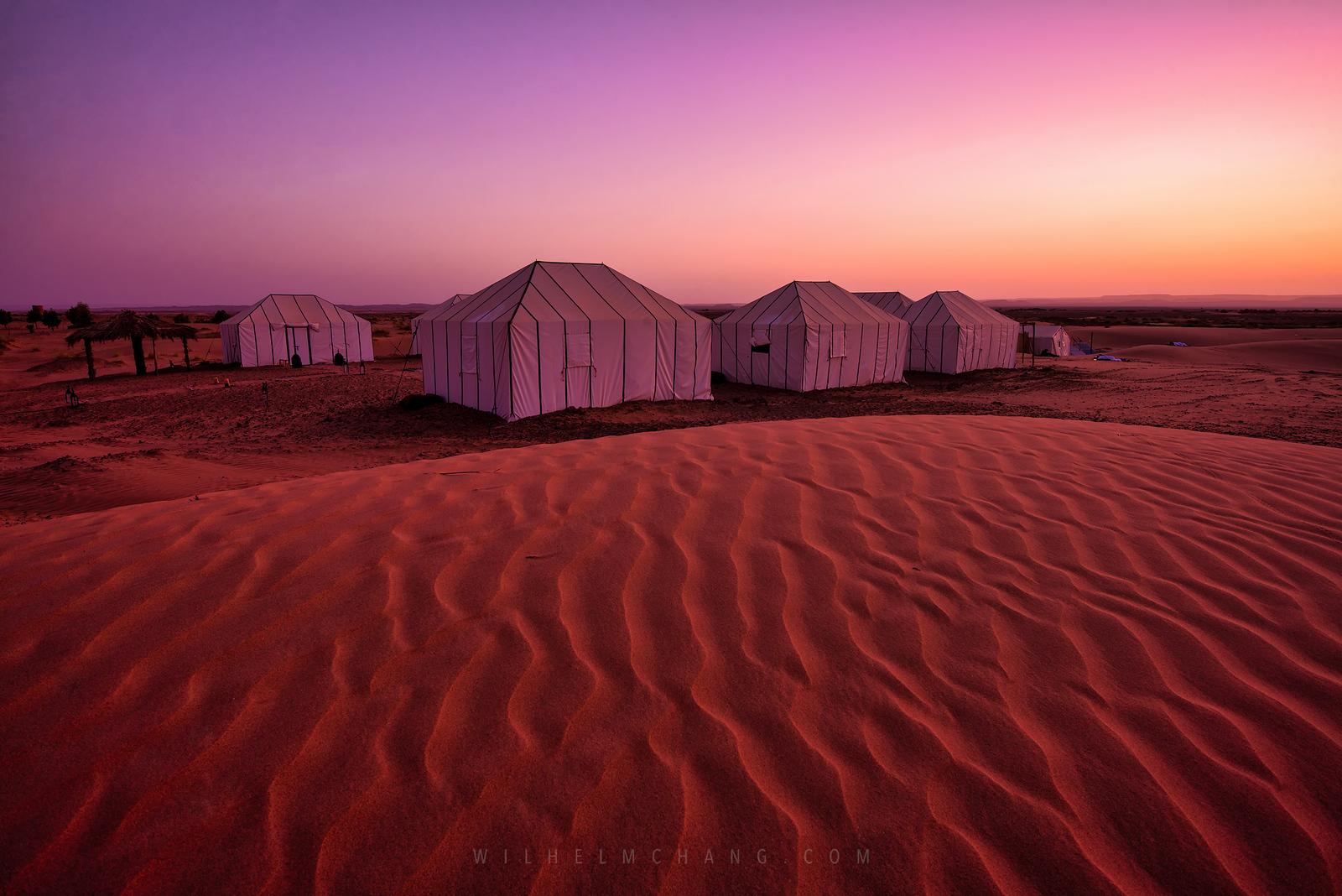 北非調色盤 摩洛哥 撒哈拉沙漠之住宿與飲食 by Wilhelm Chang 張威廉