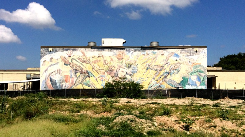 Mural - M. L. Wisdom HS