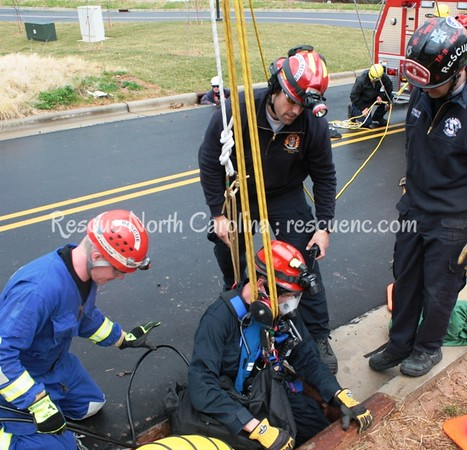 Jackson County Rescue; TR Confined Space Rescue; June 2016