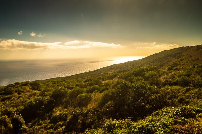 A couple large wind farms on Maui