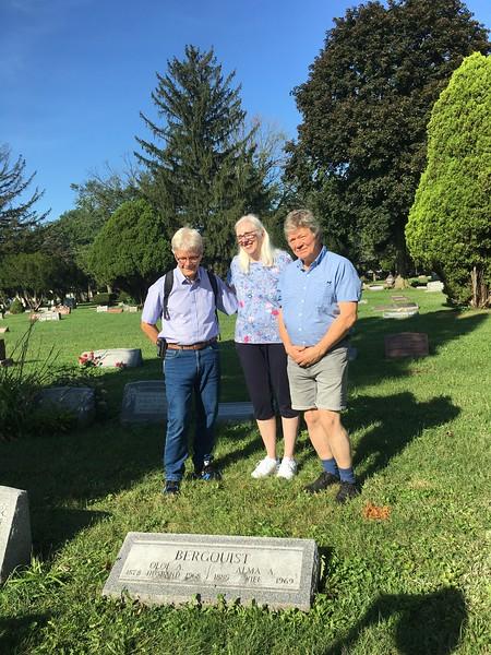 Betty gjorde forskningen för att hitta graven