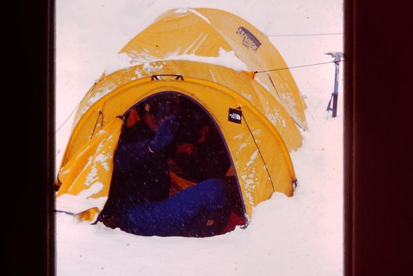 Denali May 1995 Kahiltna Base