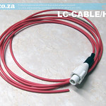 SKU: LC-CABLE/HV2, High Voltage Wire Connector and High Voltage Cable about 5 Metre Length for CO2 Laser Power Supply