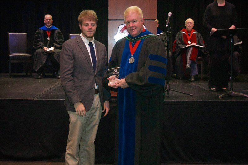 THE SPECIALTY AREA STUDENT TEACHING AWARD winner is Kevin Bryant Clary.