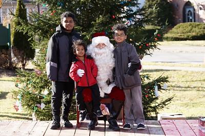 Santa In The Park 2019