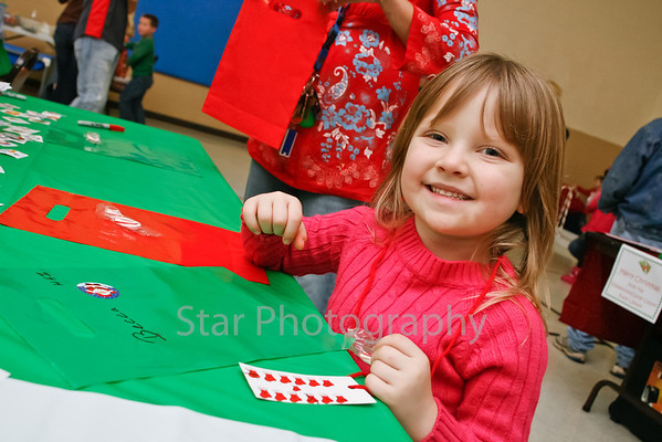 Oak St Baptist Head Start Christmas Party 12-7-2012