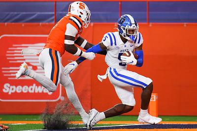 NCAA Football: Duke at Syracuse; 10/10/20