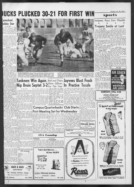 Daily Trojan, Vol. 42, No. 31, October 30, 1950