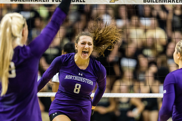 Purdue Volleyball vs Northwestern 2017-9-20