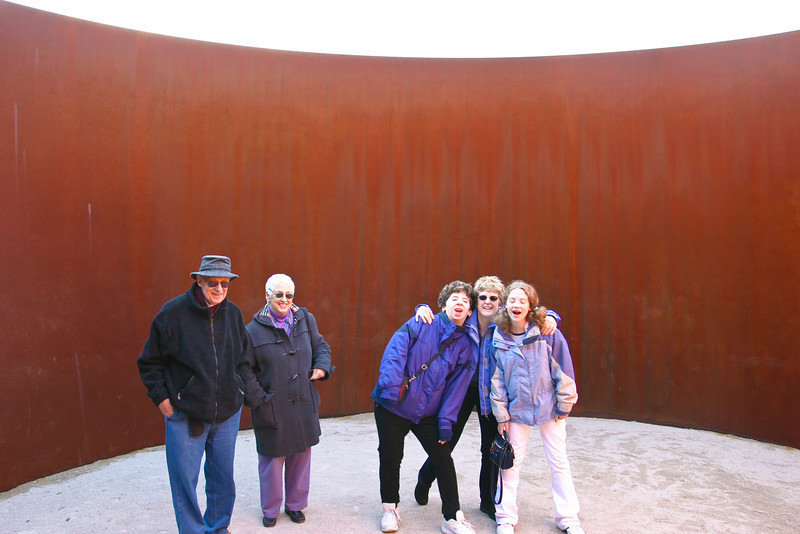 W/ Ba and Pa at Museum in St. Louis -- November 03