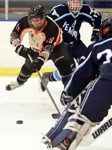 Beverly vs Peabody NEC  Boys Hockey