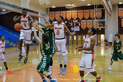Boys JV Basketball vs Langley 1/3/17