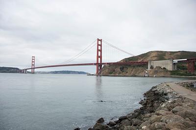 Thursday, June 16--Golden Gate Bridge, Sonoma Raceway