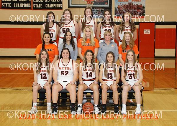2020-2021 OGHS Girls Basketball