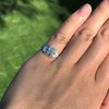 0.58ctw Old European Cut Diamond Art Deco Illusion Ring 16
