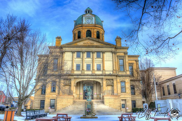 Ohio County Courthouses