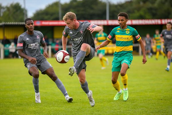 Runcorn Linnets v Witton Albion Pre Season Friendly 31-07-21