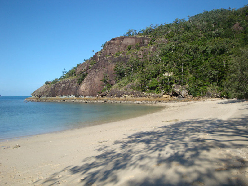 There was no way off our own private beach, other than attempting to negotiate nearly impenetrable jungle for about 20 kilometres, to a small resort at the far end of the island, or a very long swim.