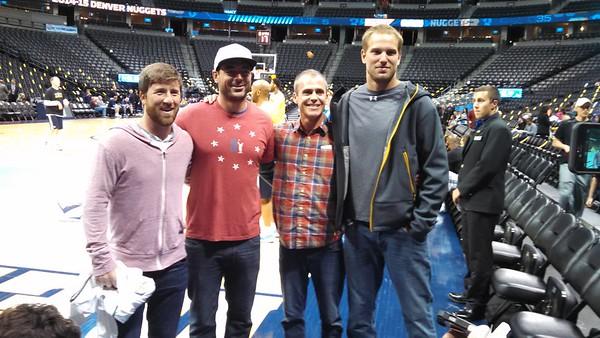TP V at the Denver Nuggets, 4-10-15