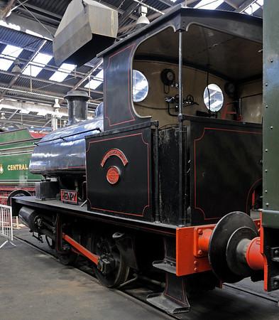 Barrow Hill steam, 2012