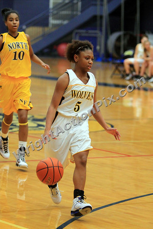 2010 02 15 Clarkston Varsity Girls Basketball vs North Farmington