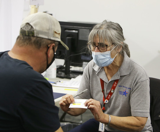 COVID-19 vaccine volunteers 041521