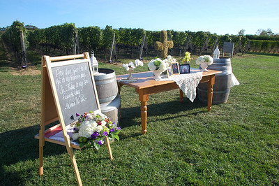 Vineyard Wedding Clovis Point