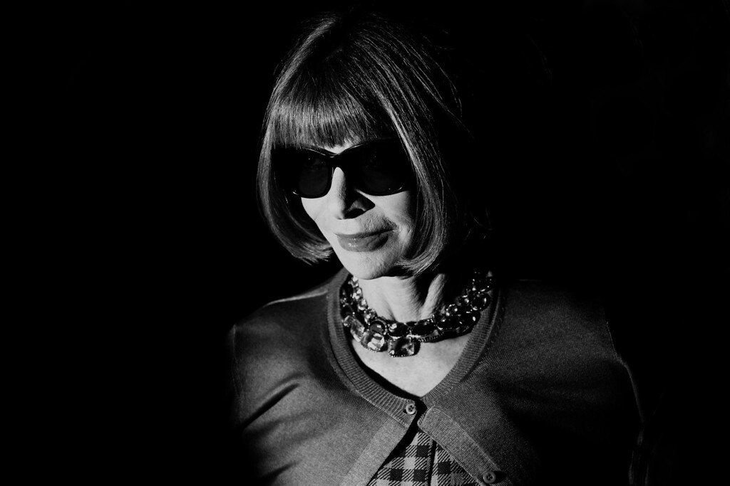 . Anna Wintour attends the Gucci show as part of Milan Fashion Week Womenswear Spring/Summer 2014 on September 18, 2013 in Milan, Italy.  (Photo by Vittorio Zunino Celotto/Getty Images)