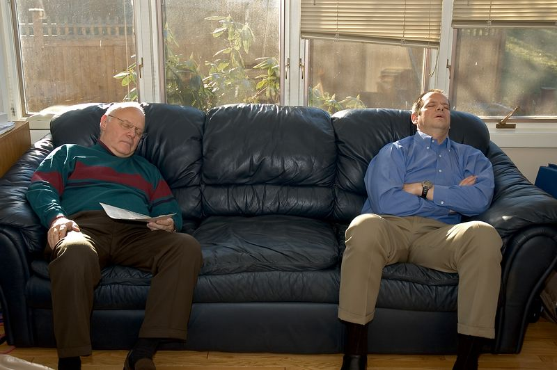 The two Larry's pre-party power nap   (Nov 26, 2004, 01:58pm)