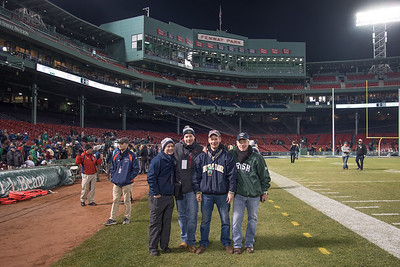 On the Field at Fenway