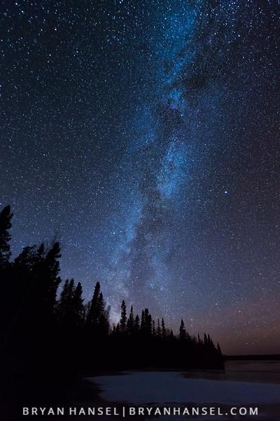 Early Winter Milky Way