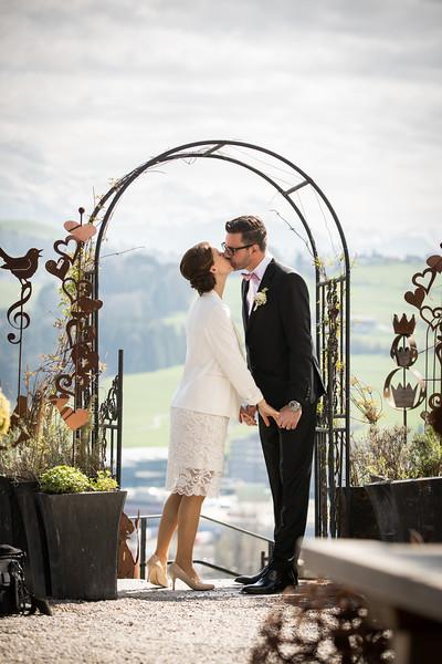 Hochzeitsfotos (Farbe)