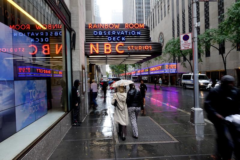 NY in the Rain