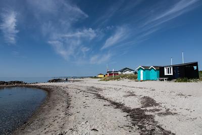 Ærø island - beach huts