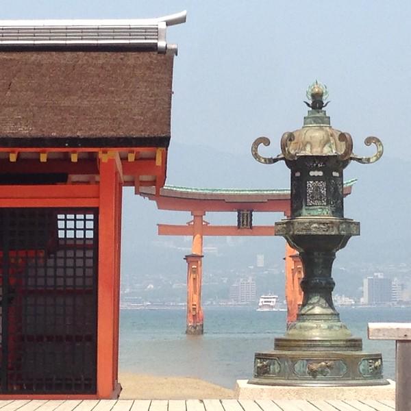 Itsukushima Shirne, Miyajima - Leslie Rowley S95