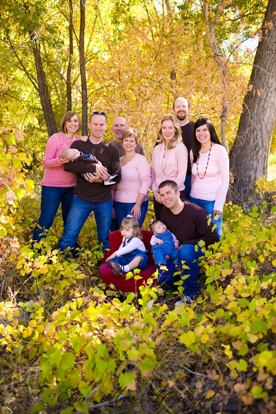 The Pritchard Family ~ Fall 2008