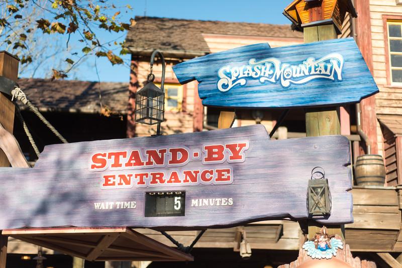 Splash Mountain Short Wait - Magic Kingdom Walt Disney World