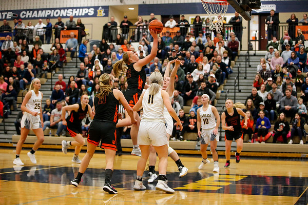 2020-02-27 Brighton at Hartland Girls Basketball District Final