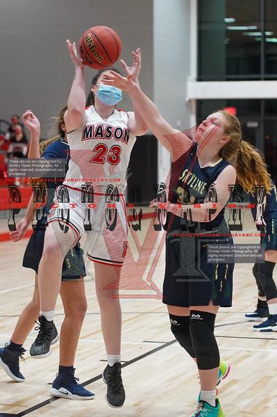 Skyline @ George Mason Girls Varsity Basketball 1-20-21